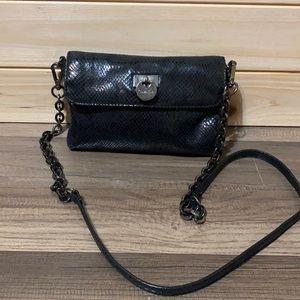 Calvin Klein crossbody purse black chain link